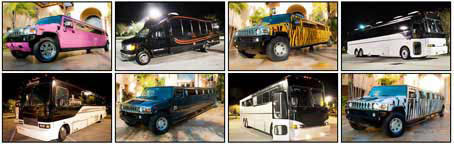 Highland Park Party Buses and Limos