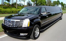 Black Escalade Limo