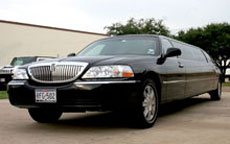 Black Lincoln Stretch Limo