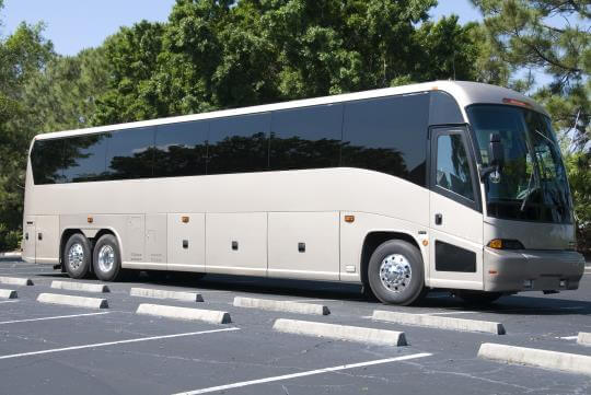 50 Passenger Charter Bus in North Carolina