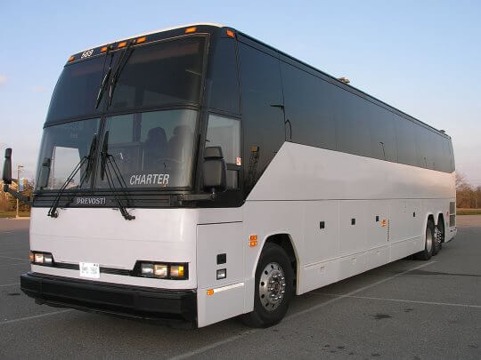 60 Passenger Charter Bus Denver