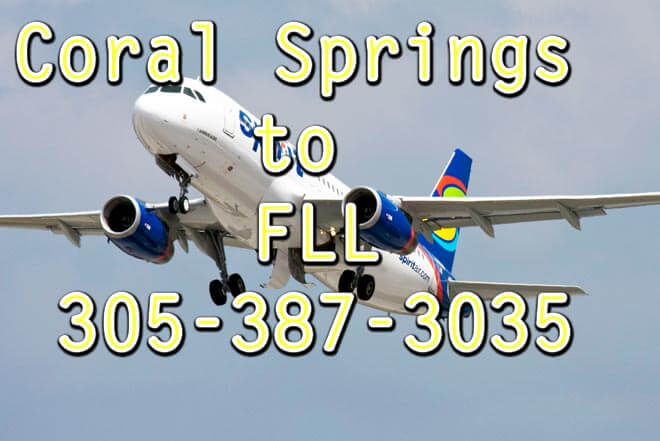 FLL to Coral Springs