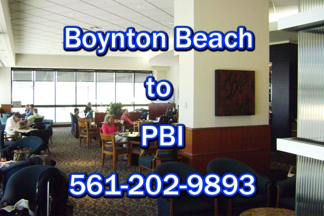 PBI to Boynton Beach