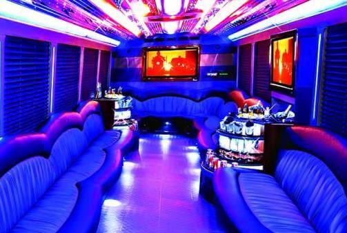 Santa Ana Party Buses