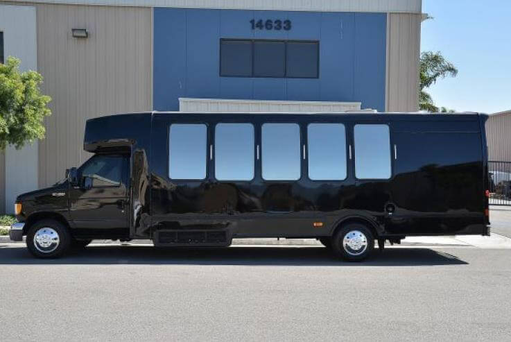 Santa Rosa Party Bus Rental