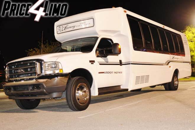 Shuttle Bus Rental Lakeland