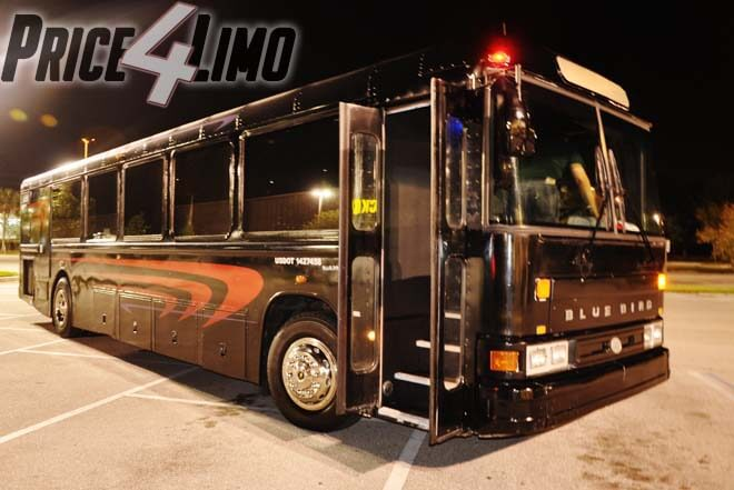 Shuttle Bus Rental Miramar