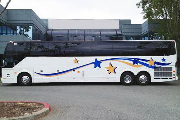 Sunnyvale Charter Bus Prices