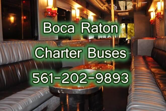 Boca Raton Charter Bus