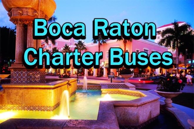 Boca Raton Charter Buses