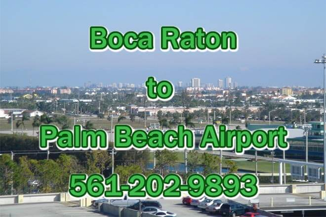 Boca Raton to Palm Beach Airport