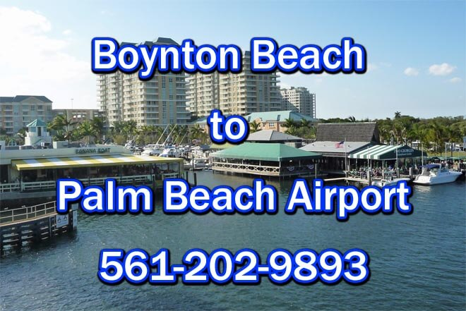 Boynton Beach to PBI