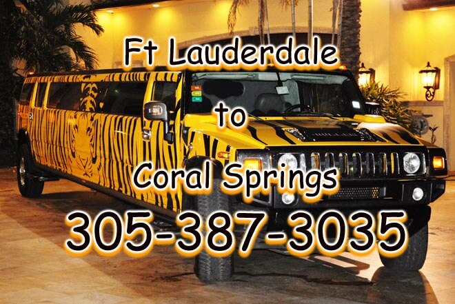 Coral Springs to FLL