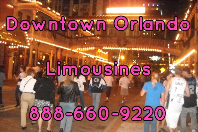 Downtown Orlando Limousine Service