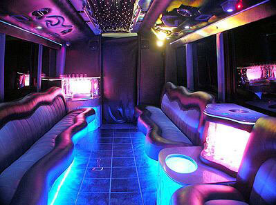 Downtown Orlando Party Bus Rental