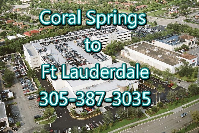 Ft Lauderdale to Coral Springs