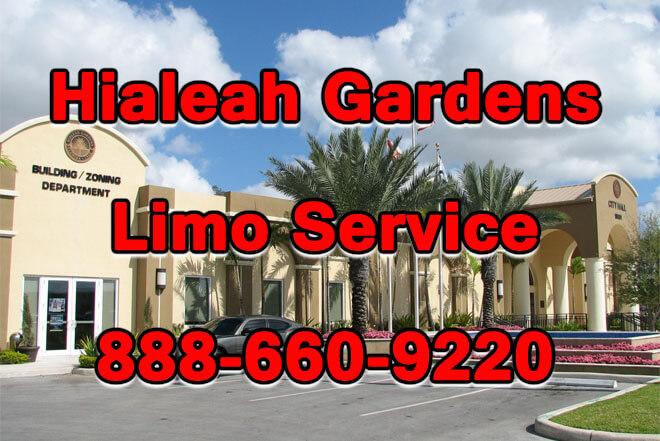 Hialeah Gardens Limo Service