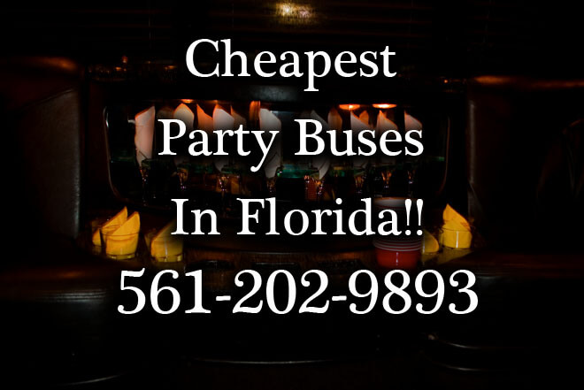 Hialeah Gardens Party Buses