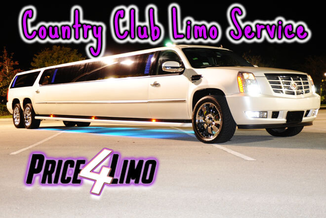 Limo Service in Country Club