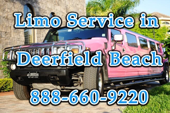 Limo Service in Deerfield Beach