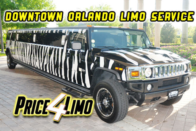 Limo Service in Downtown Orlando
