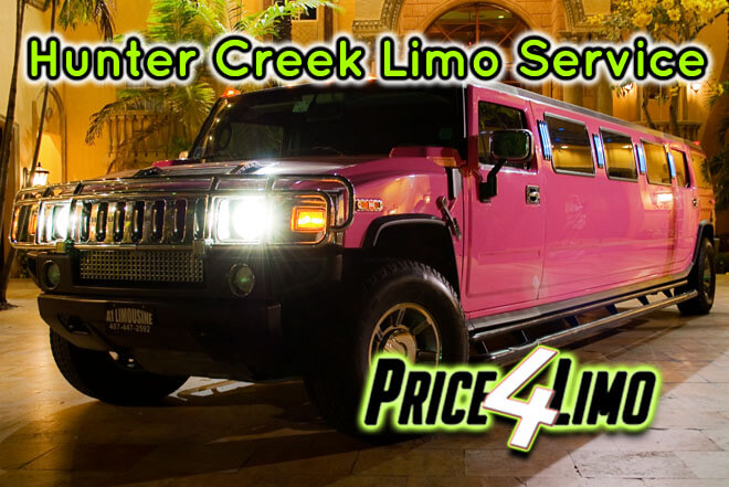 Limo Service in Hunters Creek