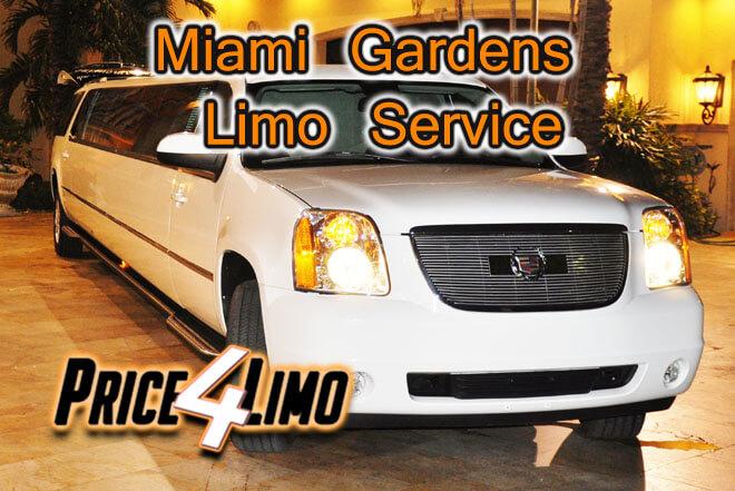 Limo Service in Miami Gardens