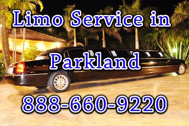 Limo Service in Parkland