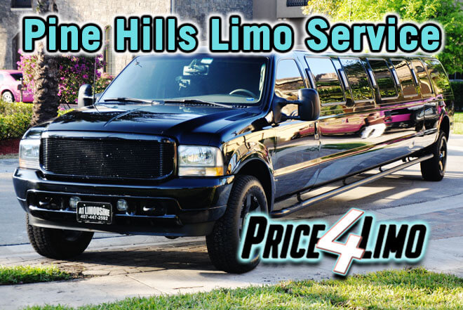 Limo Service in Pine Hills