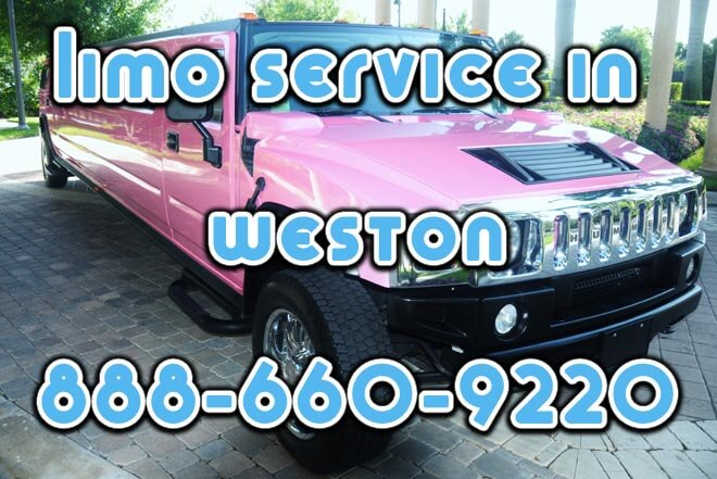 Limo Service in Weston