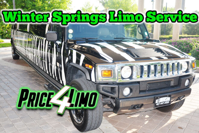 Limo Service in Winter Springs