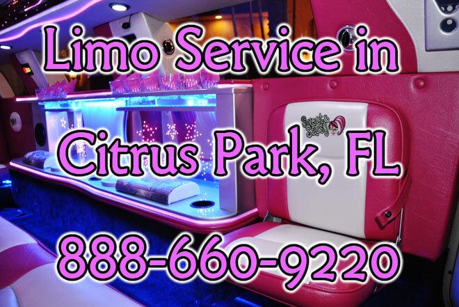 Limousine Service in Citrus Park