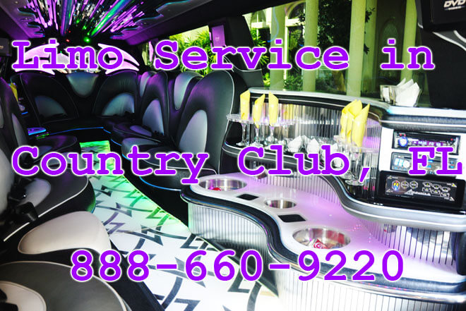 Limousine Service in Country Club