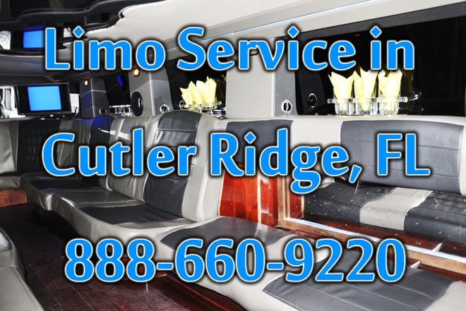 Limousine Service in Cutler Ridge