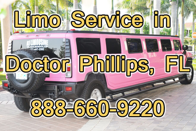 Limousine Service in Doctor Phillips