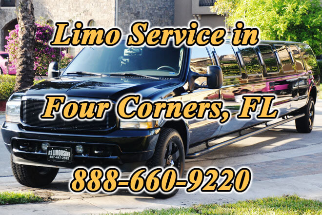 Limousine Service in Four Corners