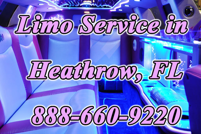 Limousine Service in Heathrow