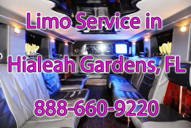 Limousine Service in Hialeah Gardens