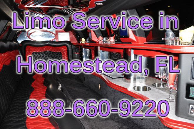Limousine Service in Homestead
