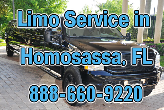 Limousine Service in Homosassa