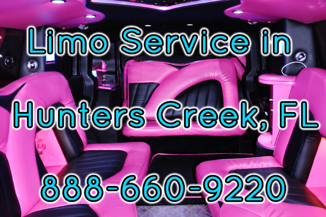 Limousine Service in Hunters Creek