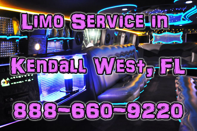 Limousine Service in Kendall West