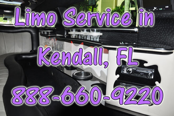 Limousine Service in Kendall