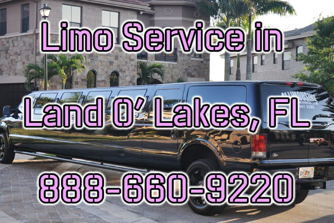 Limousine Service in Land O Lakes