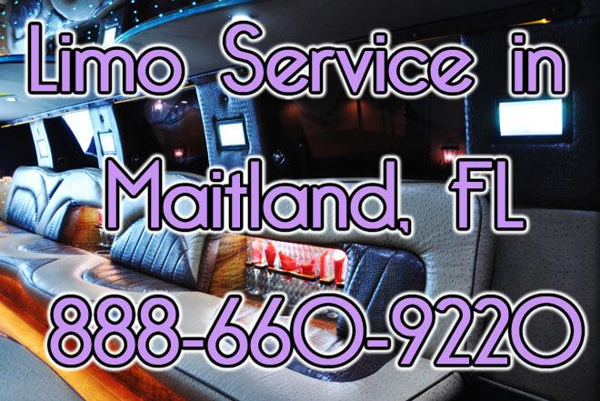 Limousine Service in Maitland