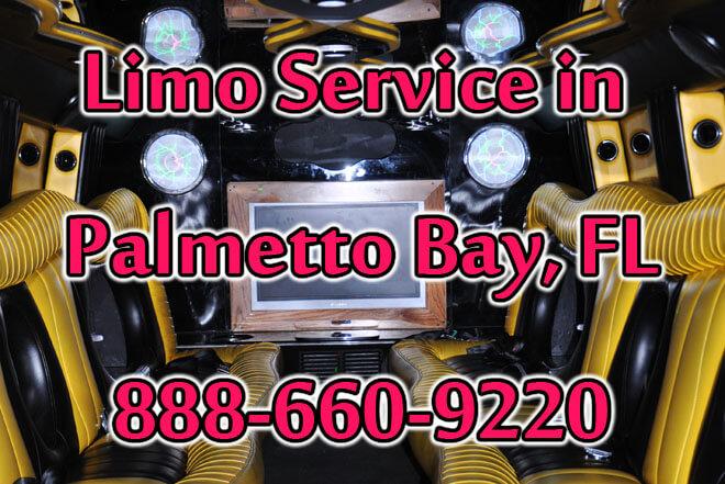 Limousine Service in Palmetto Bay