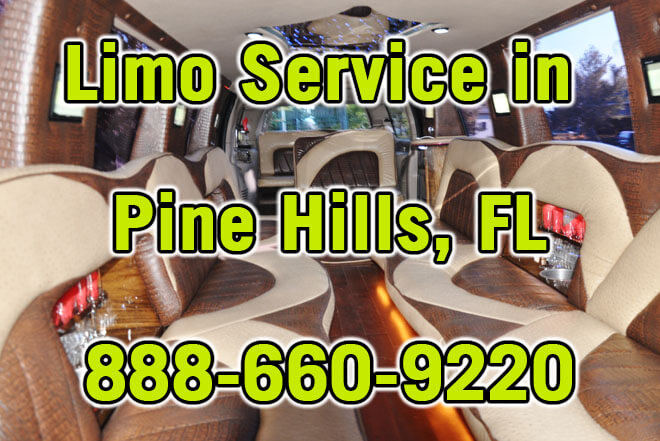 Limousine Service in Pine Hills