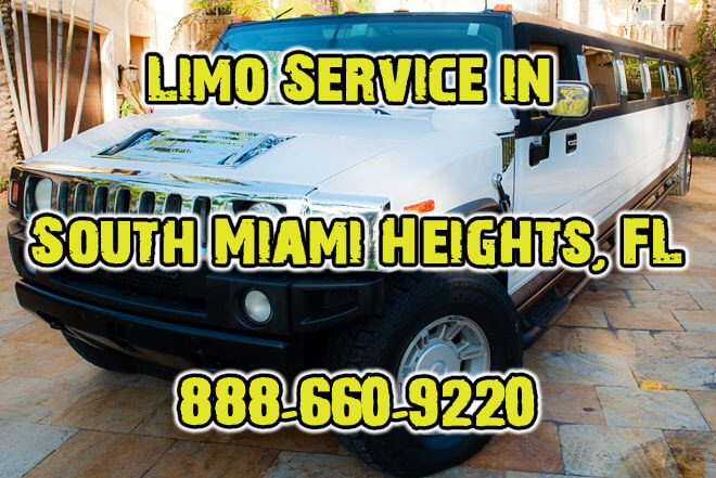 Limousine Service in South Miami Heights