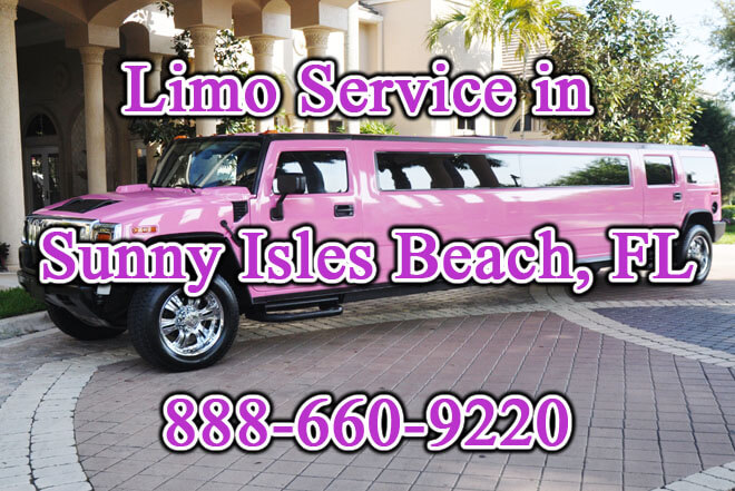 Limousine Service in Sunny Isles