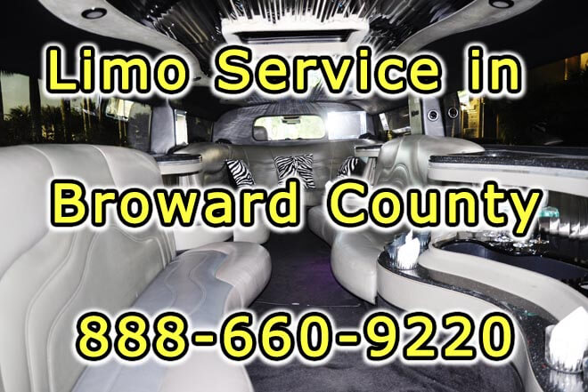 Limousine Service in Broward County